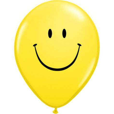 Balons Yellow Smile Face