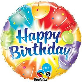 Balons ``Happy birthday``